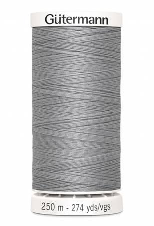 Gutermann Sew-all Polyester All Purpose Thread 250m/273yds Mist Grey
