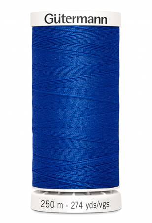 Sew-all Polyester All Purpose Thread 250m/273yds Cobalt Blue color 251