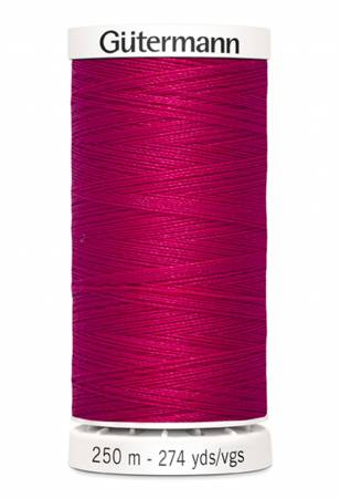 Sew-all Polyester All Purpose Thread 250m/273yds Raspberry