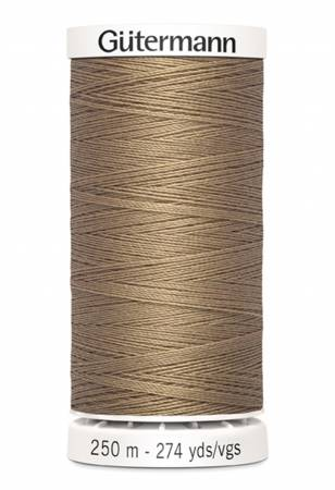 Sew-all Polyester All Purpose Thread 250m/273yds Tan