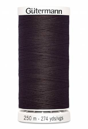 Sew-all Polyester All Purpose Thread 250m/273yds Seal Brown