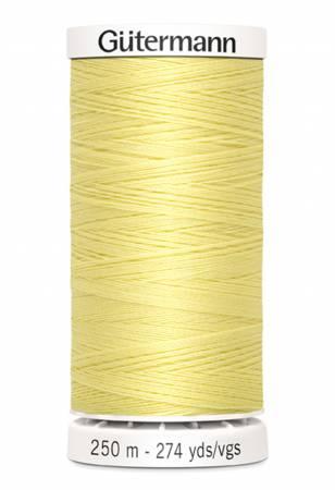 Sew-all Polyester All Purpose Thread 250m/273yds Cream