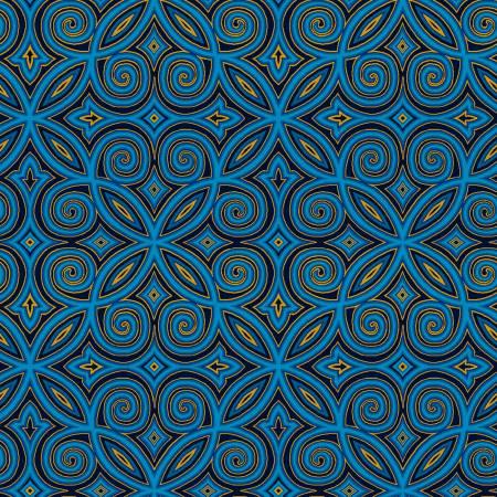 Silent Night Blue Arabesque w/Metallic2510M-77