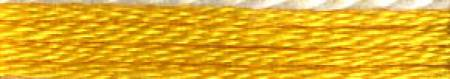 Cosmo Cotton Embroidery Floss 8m Skein Vivid Yellow