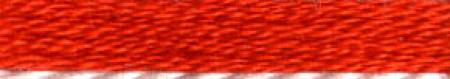 Cosmo Cotton Embroidery Floss 8m Skein Vivid Orange