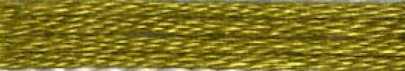 Cosmo Cotton Embroidery Floss 8m Skein Amber Green