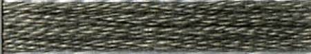 Cosmo Cotton Embroidery Floss 8m Skein Dark Castor Gray