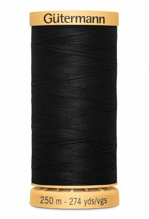 Cotton Thread 273yds - Black (1001)