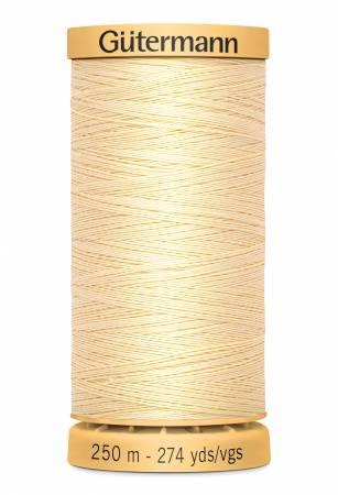 Natural Cotton Thread 250m/273yds Cream
