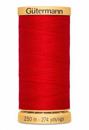 Gutermann Cotton Thread 274yds - 250M-4880 Red