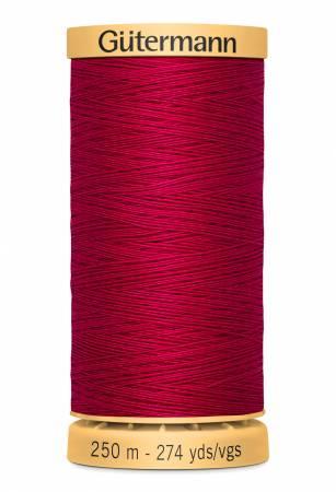 Natural Cotton Thread 250m/273yds Magenta