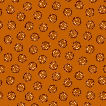 HG - Autumn is Calling - Pumpkin Circle Dots