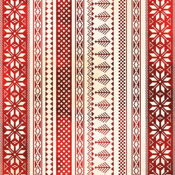 Red Nordic Stripe