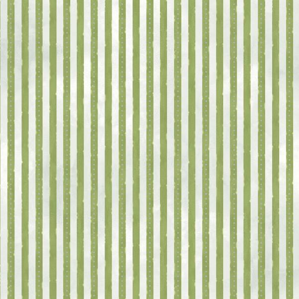 Green Mini Stripe w/Metallic