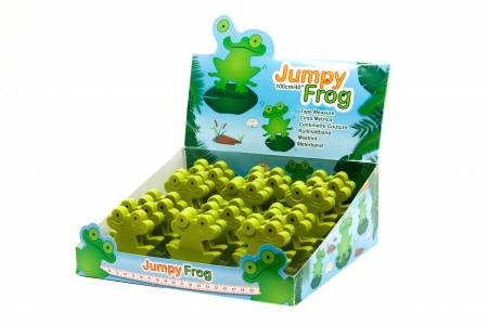 Jumpy Frog Tape Measure Display 253FRGDB