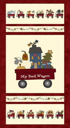 My Red Wagon - Banner Panel