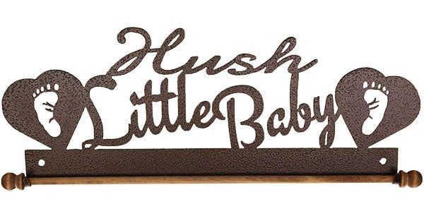 12in Hush Little Baby Copper Vein