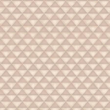 2582F-33 Cream Half Square Triangles on Flannel