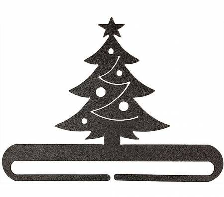 6in Christmas Tree Split Bot Charcoal