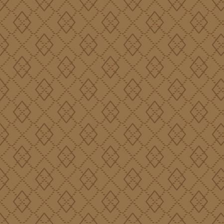 Folk Art Flannel Cocoa Argyle on Flannel