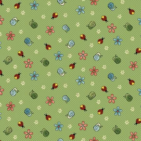Backyard Happenings Green Snails