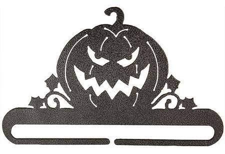 6in Jack O Lantern Split Bottom Charcoal - 25912