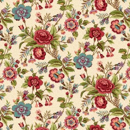 Tarrytown - Cream Main Floral