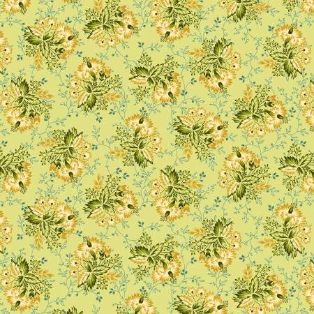 2600-66 TARRYTOWN Green Stripey Bouquet