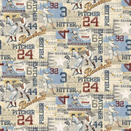 Game Time Light Blue American Pastime