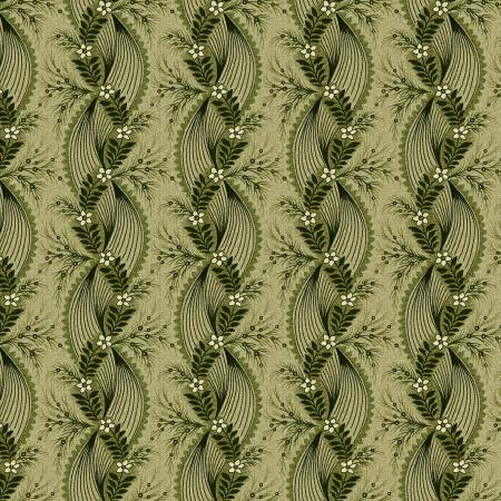 2602-66 TARRYTOWN Olive Twisted Ribbon