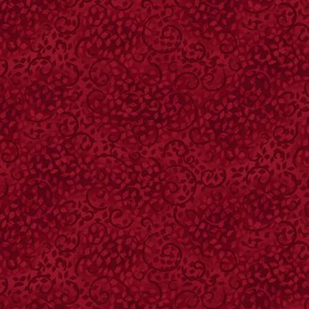 Cabernet Scroll Tonal Texture