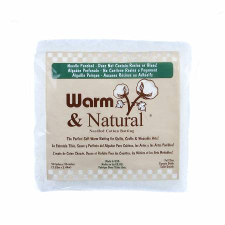 Batting Warm & Natural Cotton Quilting Assortment