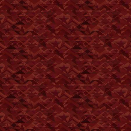 Scrap Happy Red Star Mosaic by Janet Rae Nesbitt