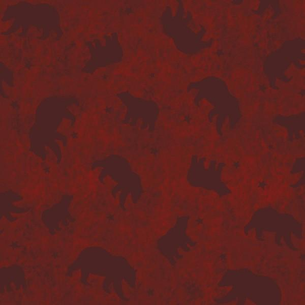 LODGE LIFE Wine Bears Flannel