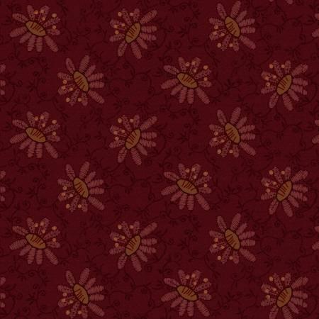 Scrap Happy - Red Lacey Design