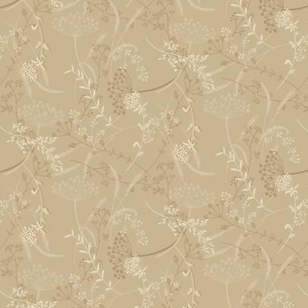 Linen Closet 2 Taupe Dandelion 2619-36