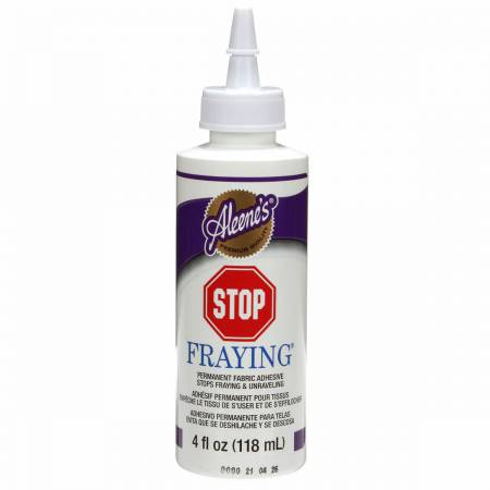 Aleene's Stop Fraying Glue 4oz  Bottle