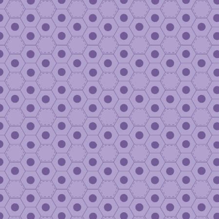 Medium Purple Hexies