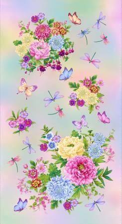 Gossamar Garden Panel Pastel