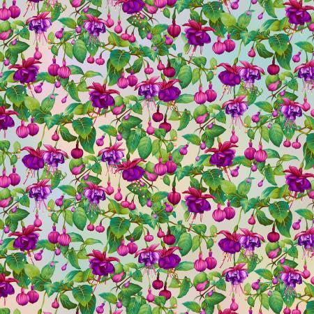 Gossamer Garden - Fuchsia Flowers