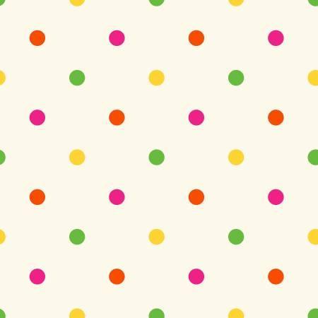 Carousel - Multi Polka Dots