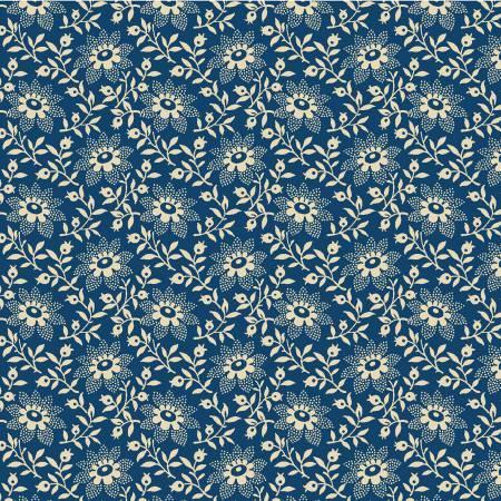 Blue Flowers 108in Wide Back