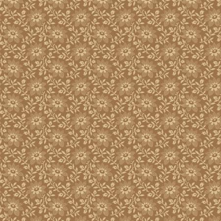 Gold Flowers 108in Wide Back