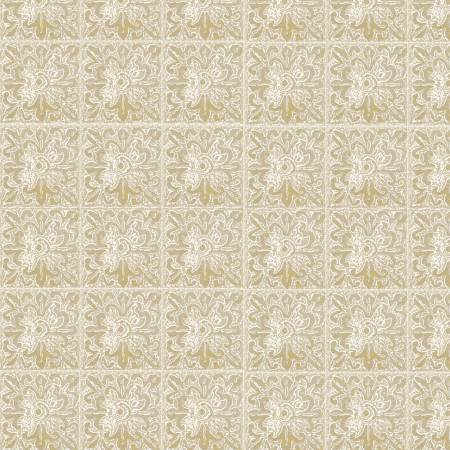 Natural Lace Tile w/Metallic 26659-NAT1