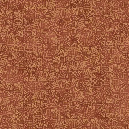 Rust Graffiti Texture w/Metallic 26662-RUS1