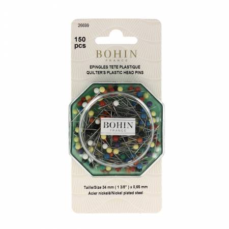 Quilting Pin Size 34mm 13/8in x .65mm