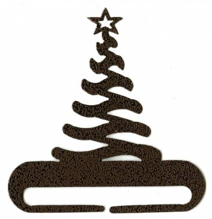 12 in Modern Christmas Tree Split Bottom Charcoal