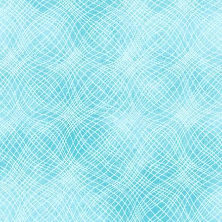 Aqua Loose Mesh Texture