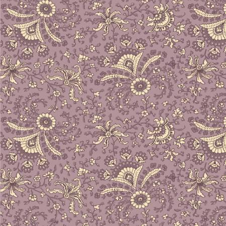 Purple Allover Paisley Reproduction