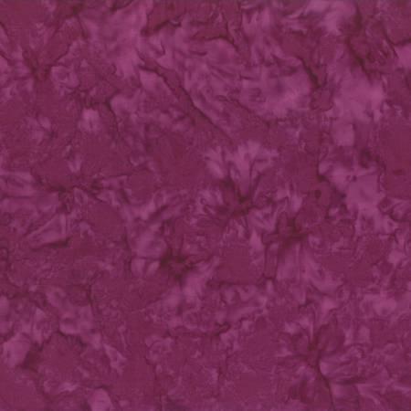 1 1/8 Yd. Remnant Magenta Rock Candy Batik